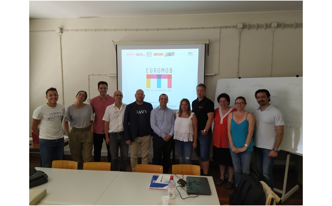 The EUROMOB TOOL consortium in the second project meeting in Porto, Portugal