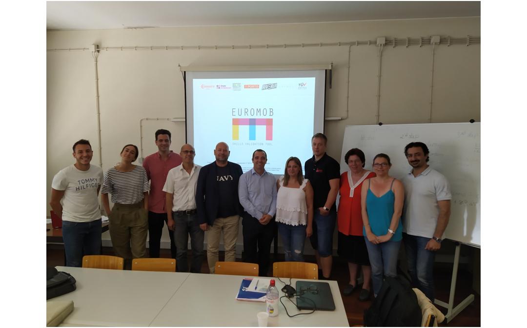 Δεύτερη συνάντηση της ομάδας του EUROMOB TOOL στο Πόρτο της Πορτογαλίας
