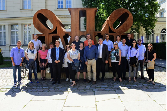 The GSS consortium in the 4th project meeting in Berlin