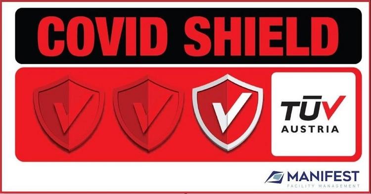 Manifest: Η πρώτη πιστοποιημένη εταιρεία πανελλαδικώς με το Ιδιωτικό Σχήμα Πιστοποίησης TÜV AUSTRIA CoVid-Shield, με το επίπεδο Principal