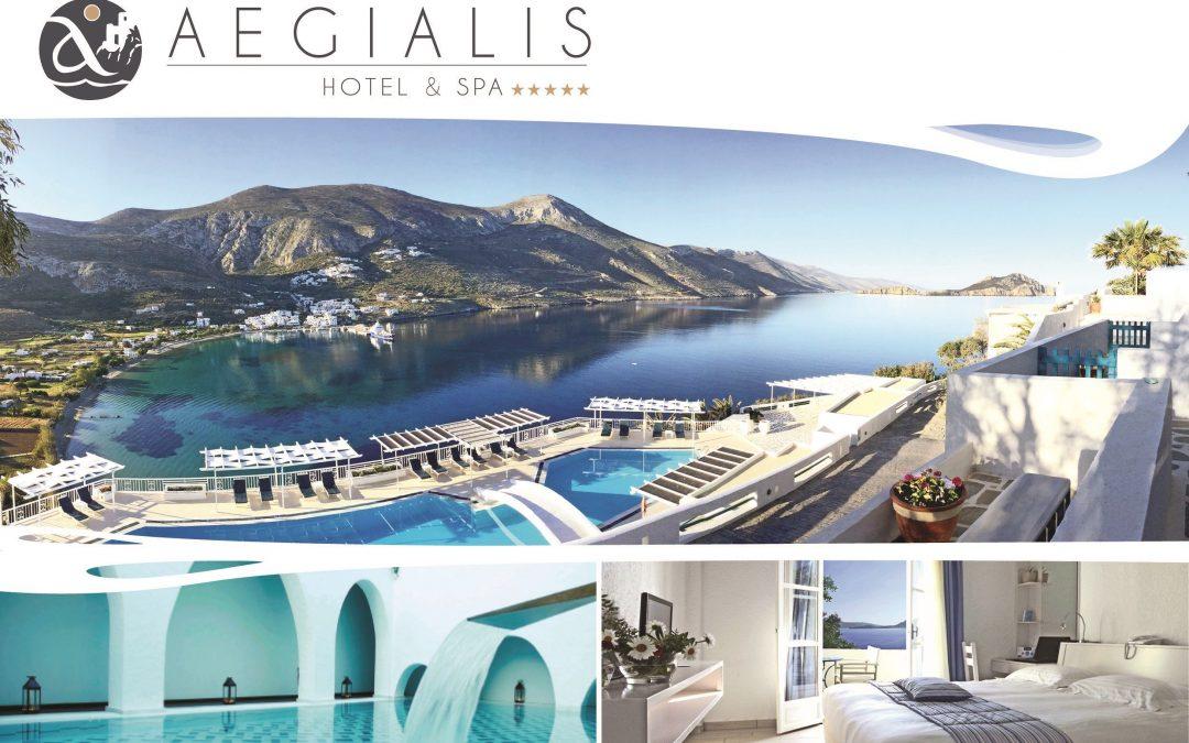 Aegialis Hotel & Spa: Πιστοποιήθηκε με το Ιδιωτικό Σχήμα Πιστοποίησης TÜV AUSTRIA CoVid Shield, με το επίπεδο Principal