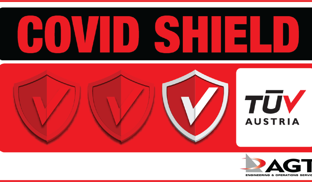 AGT Engineering & Operations Services: Πιστοποιήθηκε με το Ιδιωτικό Σχήμα Πιστοποίησης TÜV AUSTRIA CoVid Shield, με το επίπεδο Principal