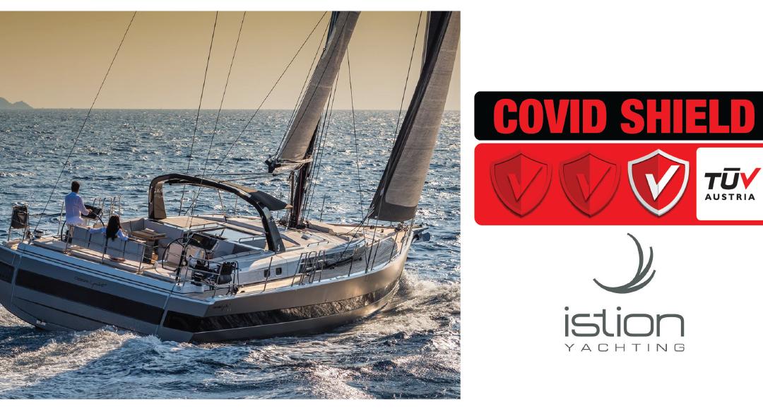 ΗIstion Yachting πιστοποίησε την κεντρική της βάση στον Άλιμο Αττικής με το Ιδιωτικό Σχήμα Πιστοποίησης TÜV AUSTRIA CoVid Shield