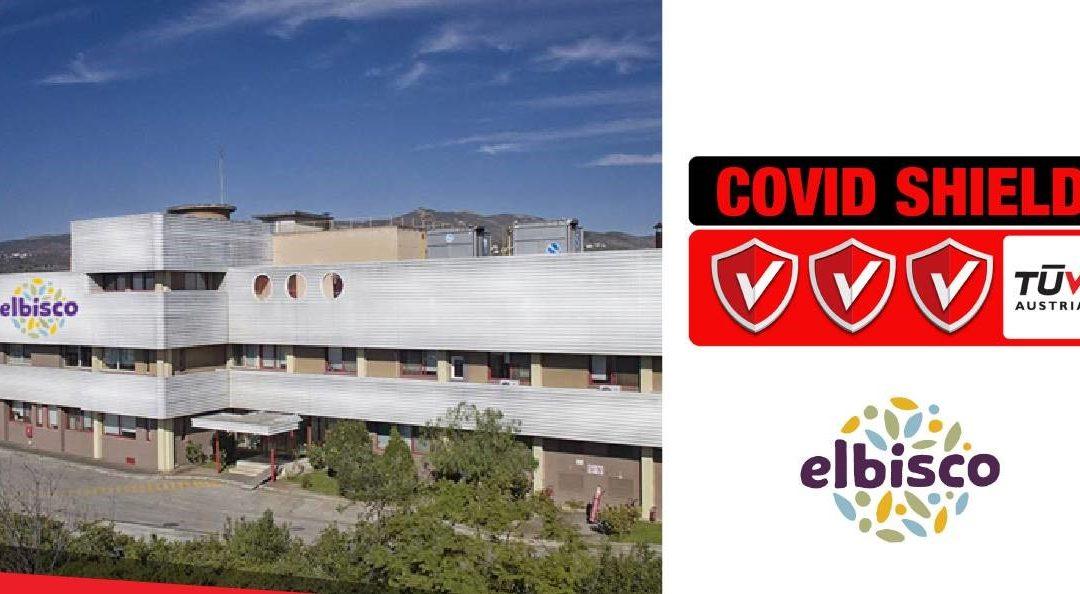"""Η ELBISCO έλαβε την πιστοποίηση «TÜV AUSTRIA CoVid Shield» στο επίπεδο """"Excellent"""" από την TÜV AUSTRIA Hellas."""